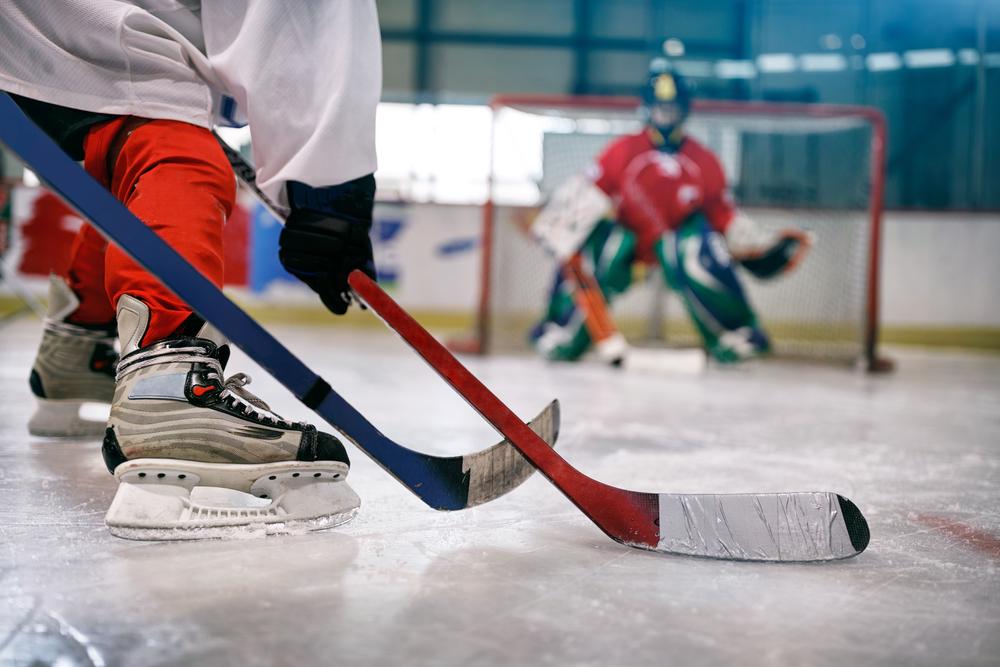Hockeyträning